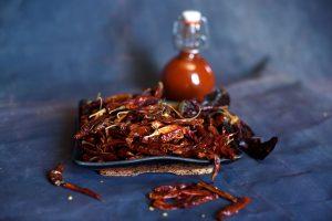 Hot sauce Arbols dab