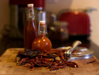 Arbol's dab hot sauce