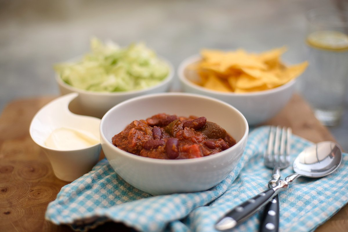 Chili can carne