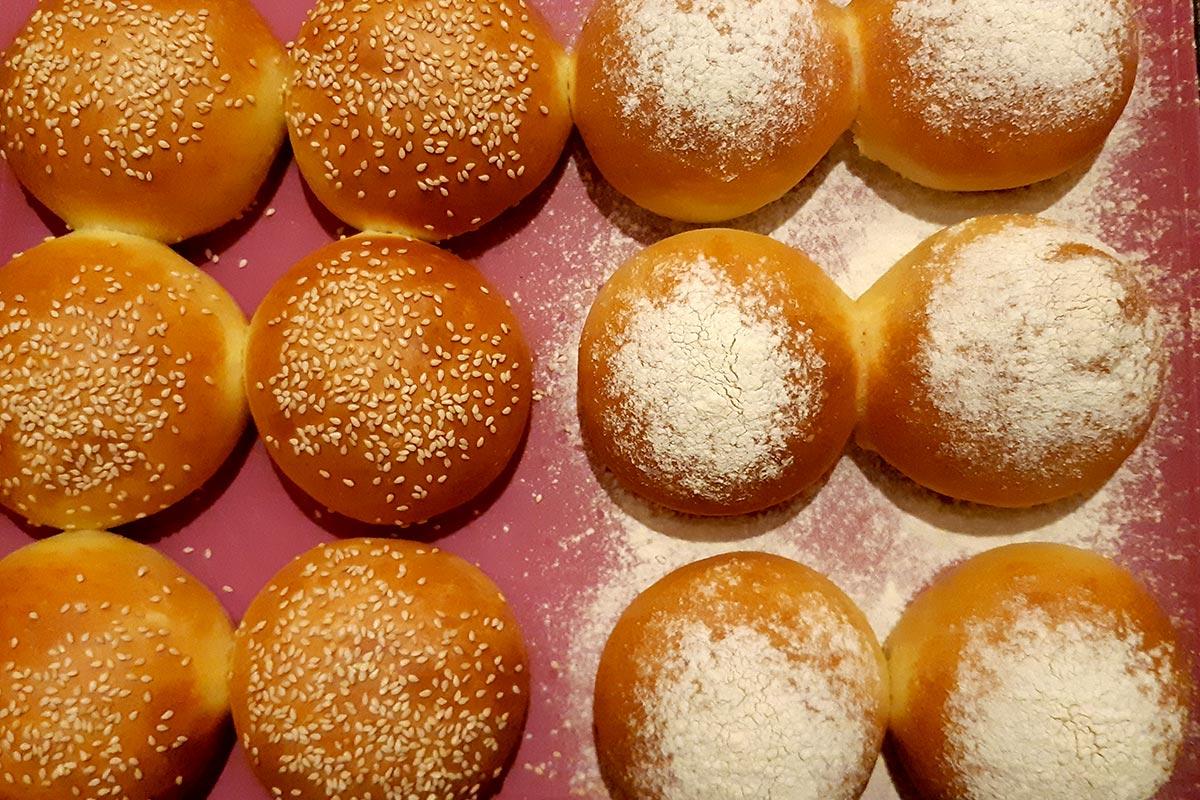 milk buns